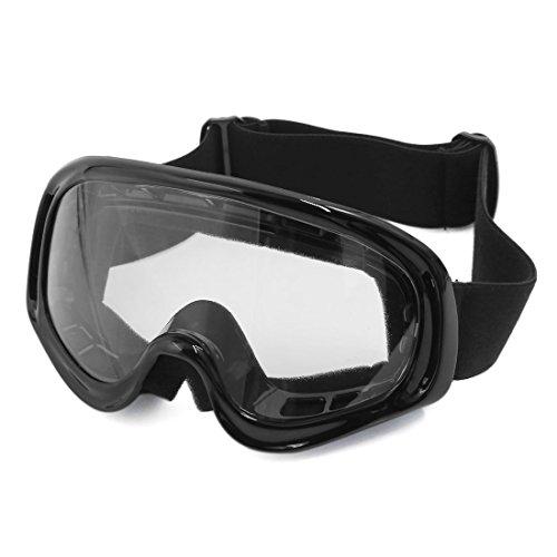 sourcingmap® Motorrad Motocross ATV Schmutz Fahrrad Rennen Anti UV Schutzbrille