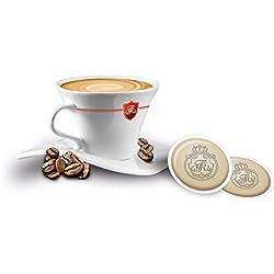 DOSETTES DE CAFE COMPATIBLES SENSEO® DOMINO DECAFEINE100 DOSETTES