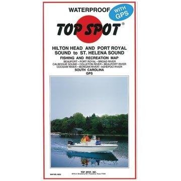 Top Spot Map N237 Winyah Bay S.C. to by Top Spot Winyah Bay