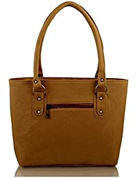 purses for women branded leather by EDGEKART® | Stylish shinning PU Leather Handbag For Women and Girls - Golden