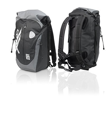 XLC Zaino 100% waterproof / IMPERMEABILE ideale per bicicletta - 30 LITRI SOLO 945 grammi
