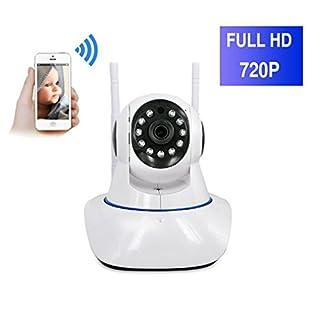 ShengyaoHul 720P HD ¨¹berwachungs-Ip-Kamera, 1 Mp Indoor Nocken¨¹berwachung, Bewegungserkennung / Gegensprechanlage / Bildaufnahme