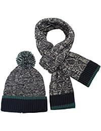 Mountain Warehouse Bonnet homme Hiver Chaud Ensemble écharpe Style Tricot