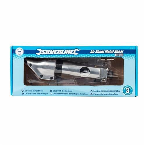 metal shear. silverline 793750 air sheet metal shear, 250 mm shear