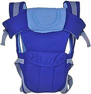 Cutieco Premium Quality Sling Backpack Baby Carry Bag, Light Blue