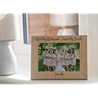 Personalised Wedding Photo Frame Gift Bridesmaid