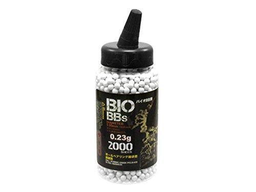 2.000 S&T Softair / Airsoft BIO BBs 6mm 0,23g hell - im Feeder (Airsoft Mine)