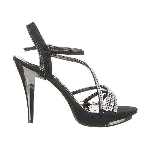 Ital-Design , sac à bride femme Noir - Noir