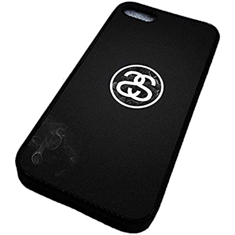 Cover iPhone 5 iPhone 5s Custodia Stussy Luxury Brand Marche Custodia Prime per Logo Da Stussy Hot Famous Brand Design - iPhone 5 iPhone SE Stussy Case [Tumblr Quality Pale