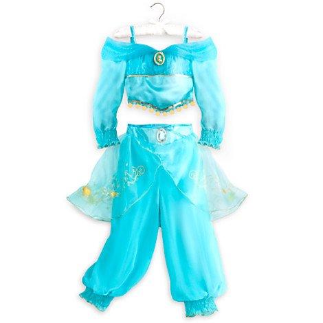 r Kinder-Größe: 5-6 Jahre (Jasmin Kostüm Kind)