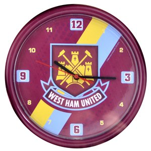 New Official Football Team Crest Wall Clocks (Various Teams to choose from!) All Come In Official Packaging!