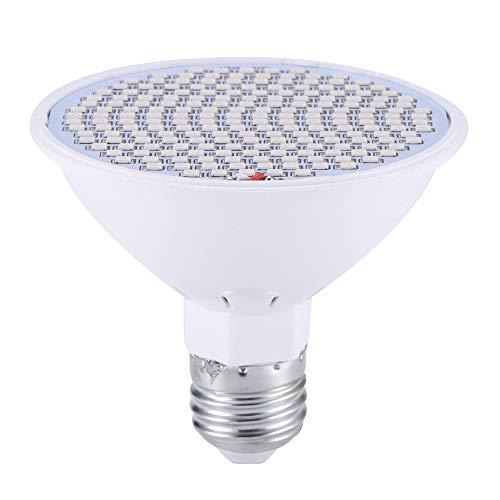 en Licht volles Spektrum Licht LED rot und blau wachsen Licht E27 30W UV-Lampe für Hydroponik Blumen Pflanzen ()