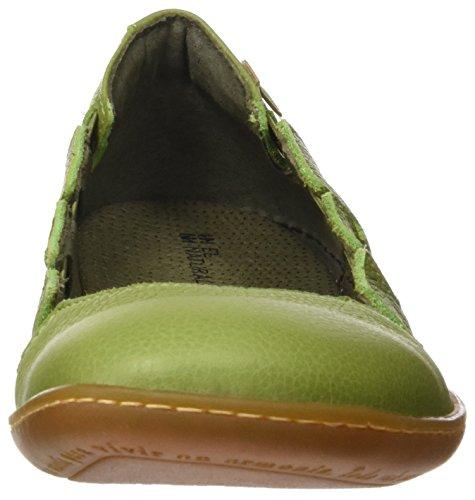 El Naturalista N5272 Soft Grain El Viajero, Scarpe con Piattaforma Donna Verde (Green)