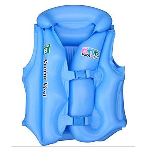 Generale bambini gonfiabile Galleggiante aiuto nuoto-Giubbotto salvagente per bambini 1-8 anni, 3 colori