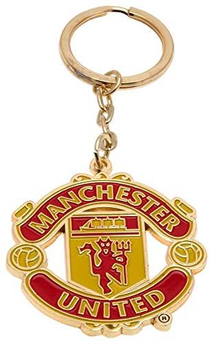 ff5ea3172f639 Club Licensed Man Utd Crest Keyring - One Size