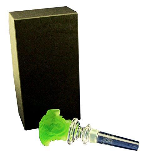 Rosenthal Versace Flaschenstopfer in smaragdgrün aus der Kollektion Treasury