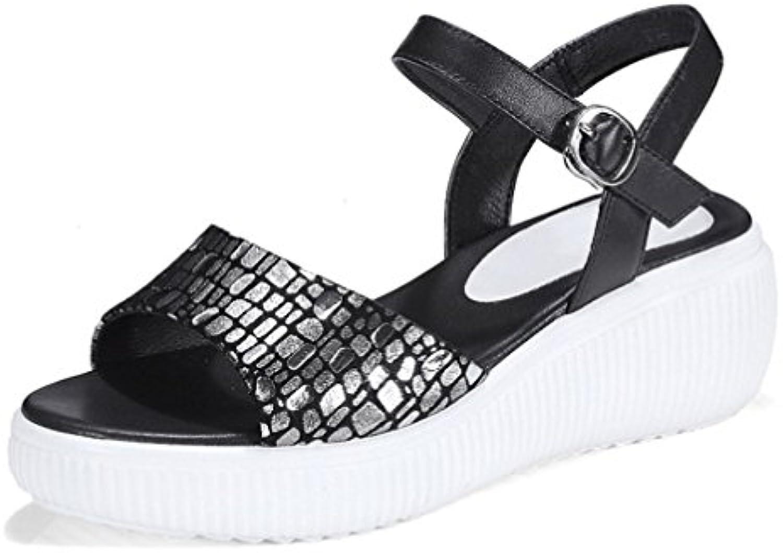 Amy Q - Zapatos de tacón  mujer 43 EU|negro