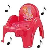 Pot de toilette musical Rose pour bébé enfant - Best Reviews Guide