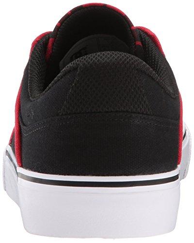 DC Mikey Taylor Vulc, Sneakers Basses Homme - Noir - Black/Plaid, (M) US EU