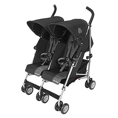 Maclaren Twin Triumph Black/Charcoal iSafe