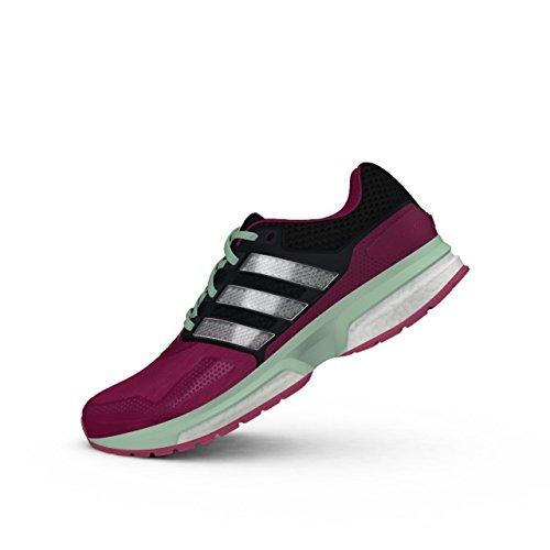 T 2 TECHFIT W 2015 Damen Laufschuhe Fitness Sneaker B22993(bopink/cblack/frogrn = pink,UK 6.0 (39 1/3)) ()