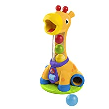 Bright Starts- Jouets d'Eveil Girafe Spin & Giggle, 10933