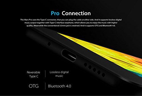 Vernee Mars Pro  2017 Flagship  - 5 5 pulgadas Pantalla AMOLED Android 7 0 4G Smartphone Helio P25 Octa N  cleo 2 5GHz 6GB RAM 64GB ROM  7 6mm Super S