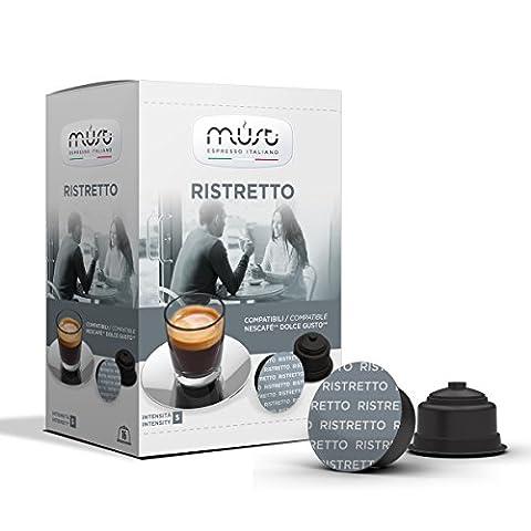 192 Alternative Kapseln Espresso RISTRETTO Dolce Gusto® kompatibel.