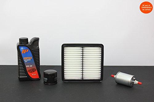 Preisvergleich Produktbild TECNECO 'Coupon 3 Filter (aria-olio-abitacolo) + 4 lt Öl Fuel Economy sehr hohe Leistung Longlife (garantiert für 30.000 km)