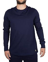 Polo Ralph Lauren Homme T-shirt de logo Longsleeved, Bleu