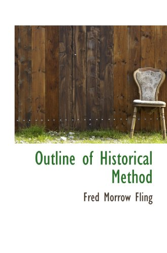 Outline of Historical Method