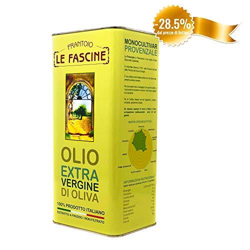 Le Fascine Natives Olivenöl Extra Virgin Extravirgin 100{5d8cfb1d40bf72a2a99f7035dcc86af262e564add0b53a1319b75ebd004c6608} Italienisch 5l (5 Liters) Olio Extravergine D\'Oliva 100{5d8cfb1d40bf72a2a99f7035dcc86af262e564add0b53a1319b75ebd004c6608} Italiano