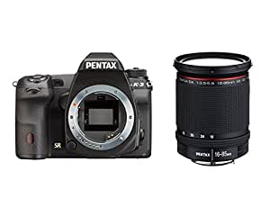 Pentax K-3 Appareil photo numérique Reflex 24 Mpix Kit Objectif DA 16-85 mm Noir