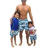 MRURIC MäEltern-Kind nner Daddy Swimwear Laufen Surfen Sport Strand Shorts Badehose Boardshose,Bikini Brief Slip Trunk Shorts Boxers Unterhose Unterwäsche Swimwear Badeshorts Trainingshose