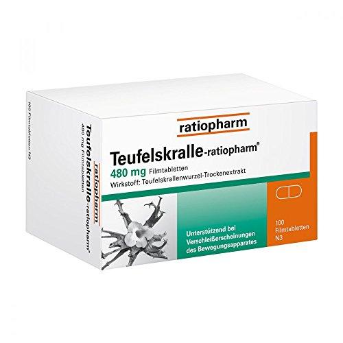 Teufelskralle-ratiopharm Tabletten, 100 St.