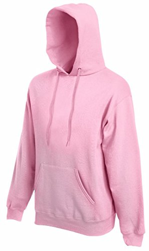Fruit of the Loom ss068 m Sudadera con Capucha de la Mujer Rosa Rosa Claro Small