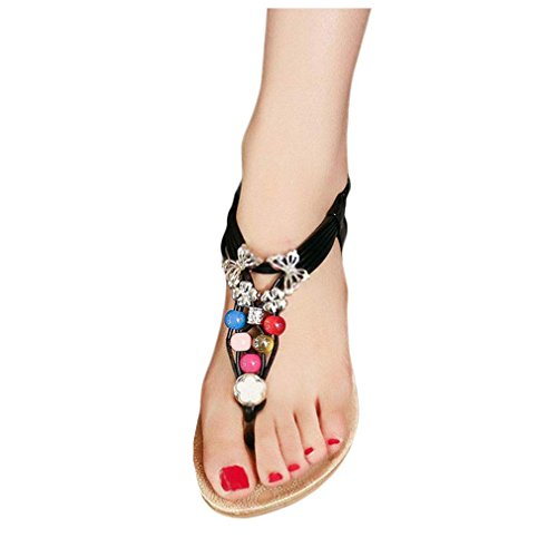 koly-women-summer-bohemia-sweet-beaded-sandals-flip-flop-sandals-beach-shoes-38-black
