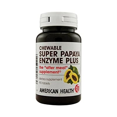 American Health 84925 Super Papaya Enzyme Plus by American Health