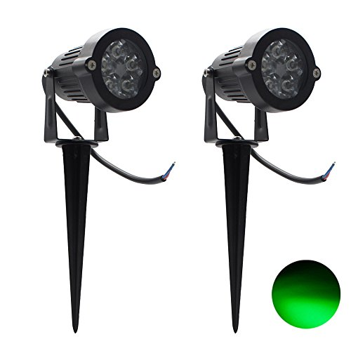 2 Packs, 5W LED Impermeable IP65, Luz Paisaje Aire