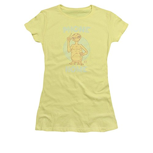 Banana Juniors T-shirt (E.T. Phone Home Juniors Banana T-Shirt(XXX-Large))