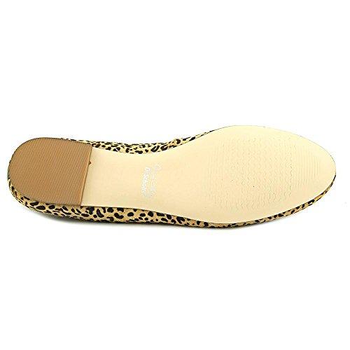 Dr. Scholl's C-Vixen Femmes Large Cuir Chaussure Plate Tan-Black