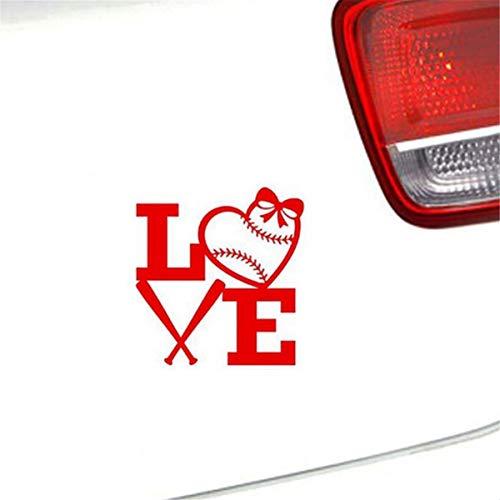 auto-aufkleber Baseball Love Aufkleber Auto Computer LKW Boot Aufkleber für Auto Laptop Fenster Aufkleber