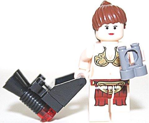 ifigur Prinzessin Leia Fleisch mit Fernglas Blaster und Waffenhalterung (Prinzessin Leia Zubehör)