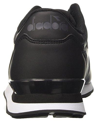Diadora Camaro mm, Sneaker a Collo Basso Unisex – Adulto Nero (Nero)