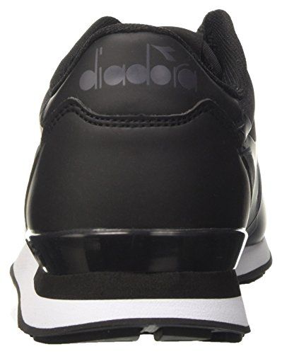 Diadora Camaro mm, Sneaker Basses Mixte Adulte Noir (Nero)