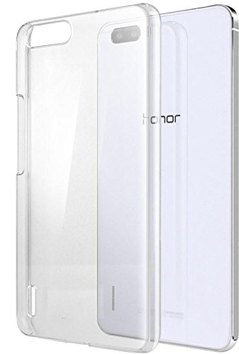 Honor 6 Plus Cover, CUBIX® (Never Turn Yellow) Clear transparent hard case Back Cover for Huawei Honor 6 Plus  available at amazon for Rs.199