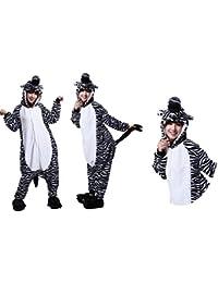 Kigurumi Pijama Animal Entero Unisex para Adultos con Capucha 2018.Ideal para Regalar, Fiestas, Disfraces.