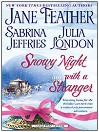 Snowy Night with a Stranger (Superior Collection) by Jane Feather (2009-04-01)