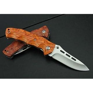 J.C.H. KT35 Rosewood Wooden Handle Klappmesser Jagdmesser Überlebensmesser Taschenmesser Hunting Folding knife