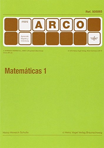 M-ARCO MATEMAT.1 5 MINI ARC 5065 FERRER